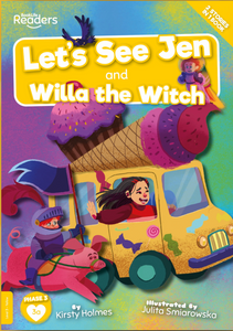 BookLife Readeres - Yellow: Let's See Jen And Willa The Witch