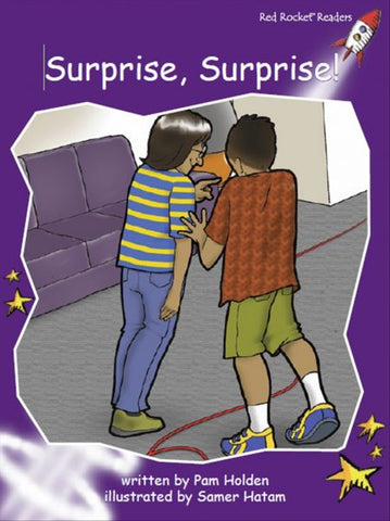 Red Rocket Fluency Level 3 Fiction C (Level 19): Surprise, Surprise!