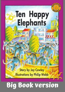 Sunshine Classics Level 12: Ten Happy Elephants - Big Book