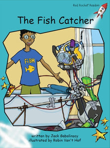 Red Rocket Fluency Level 2 Fiction C (Level 18): The Fish Catcher
