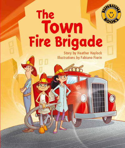 Sunshine Starters Level 14: The Town Fire Brigade