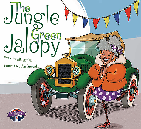 The Jungle Green Jalopy- Jille Books