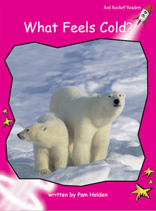 Red Rocket Readers Big Book: What Feels Cold?