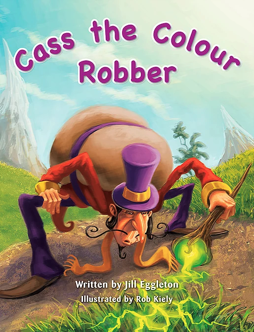 KL Shared Book Year 2: Cass the Colour Robber