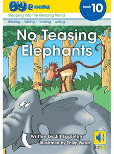 Bud-e Reading Book 10: No Teasing Elephants