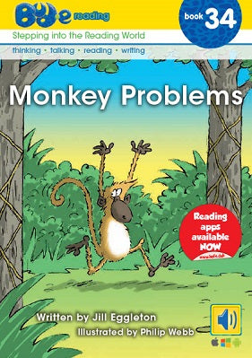 Bud-e Reading Book 34:  Monkey Problems