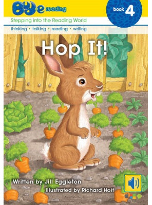 Bud-e Reading Book 4:  Hop It!