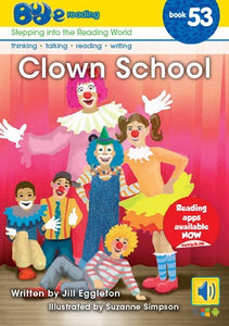 Bud-e Reading Book 53: Clown School