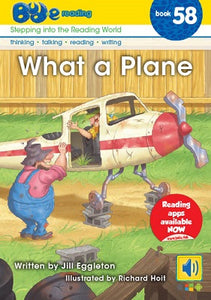 Bud-e Reading Book 58:  What a Plane