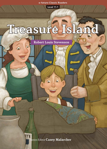 EF Classic Readers Level 11, Book 1:  Treasure Island