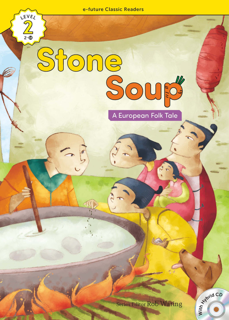 EF Classic Readers Level 2, Book 14: Stone Soup