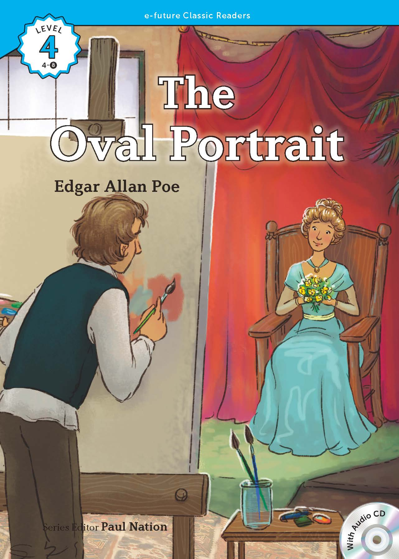 EF Classic Readers Level 4, Book 8:  The Oval Portrait