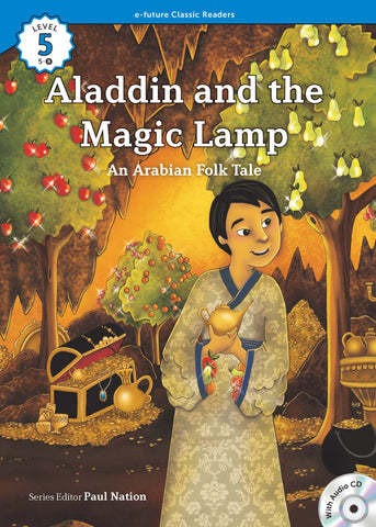 EF Classic Readers Level 5, Book 8: Aladdin and the Magic Lamp