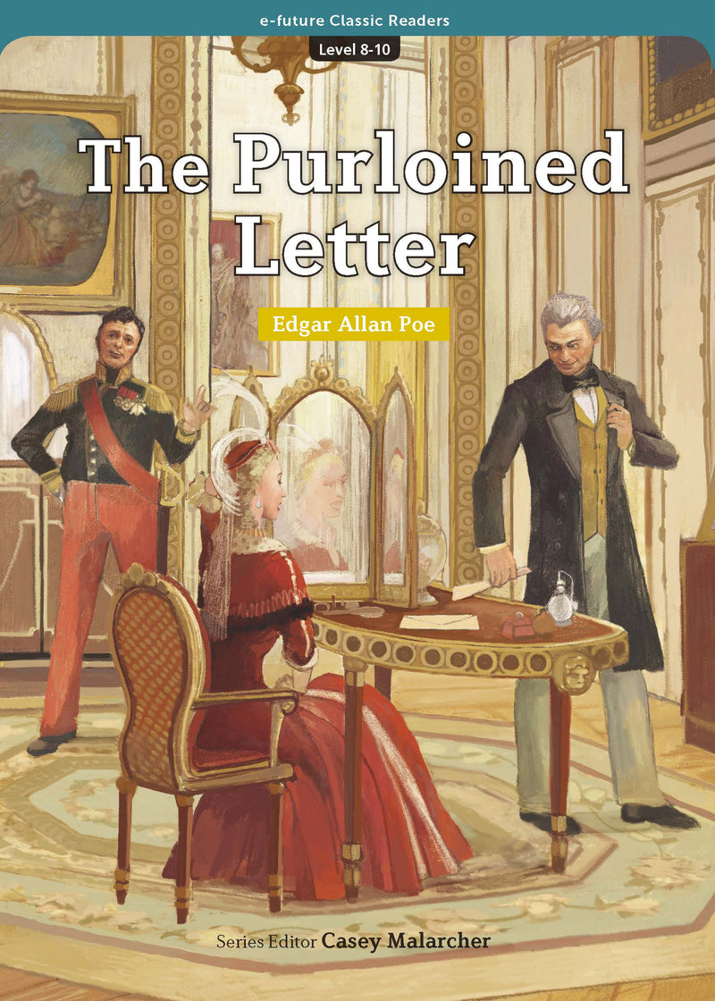 EF Classic Readers Level 8, Book 10: The Purloined Letter