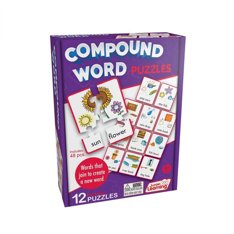 Compound Word Puzzles (JL244)