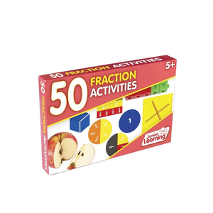 50 Fraction Activities (JL331)