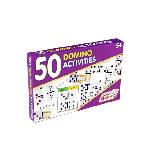 50 Playing Dominoes Activities (JL339)