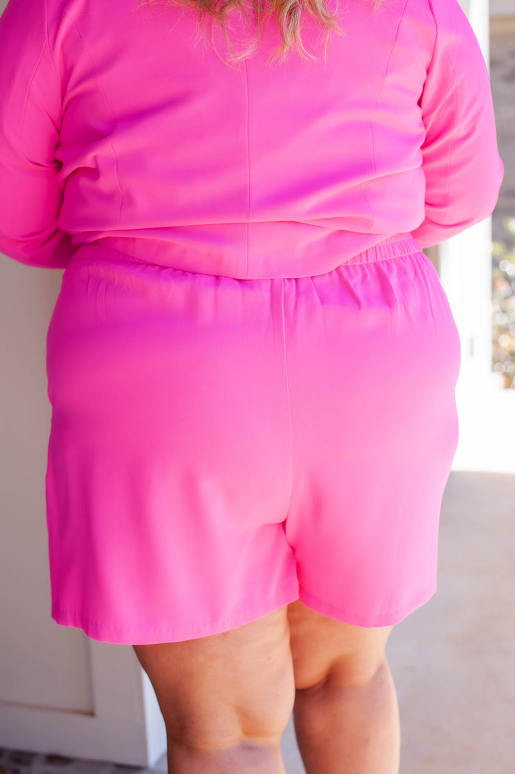Boss Babe Ultra Pink Shorts