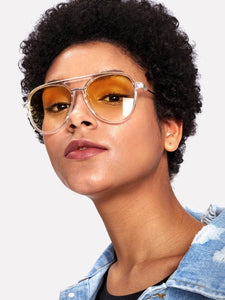 Clear Bridge Sunglasses
