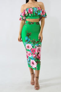Senorita Margarita Two Piece Set - NaturaleeChicBoutique