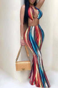 Rainbow Wave Jumpsuit