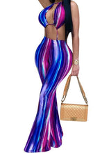 Tye Dye Waves Jumpsuit - NaturaleeChicBoutique