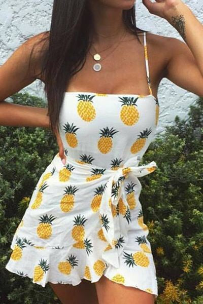 Pineapple Express Sundress