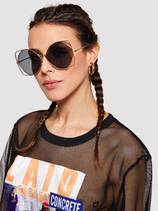 Over The Top Oversized Sunglasses - NaturaleeChicBoutique