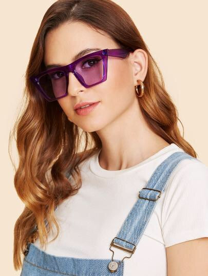 Cat Eyes Jelly Sunglasses - NaturaleeChicBoutique