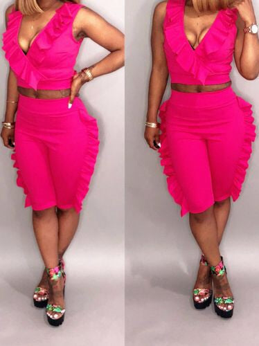 Perfect Flounce Two Piece Set