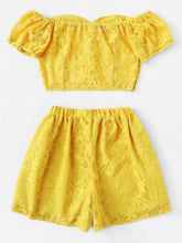 My Sunshine Two Piece Set - NaturaleeChicBoutique