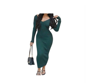 Keep It Simple Bodycon Dress