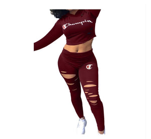 Champion Yoga Two Piece Pants Set