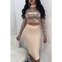 Reverse Sequin Two Piece Set - NaturaleeChicBoutique
