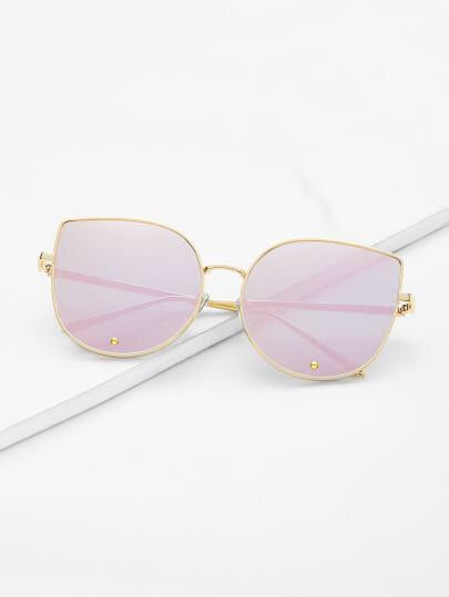Pink Reflection Sunglasses - NaturaleeChicBoutique