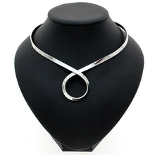 Infinity Bib Choker Necklace