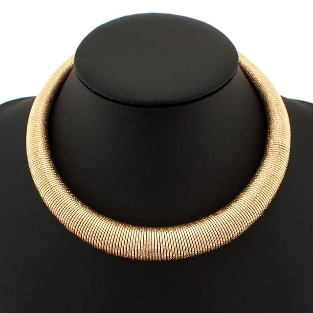 Amare Choker Necklace - NaturaleeChicBoutique