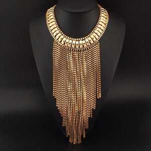 Uma Bib Statement Necklace - NaturaleeChicBoutique