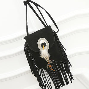 Fringe Tassel Cross-body Bag - NaturaleeChicBoutique