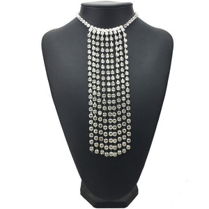 Rain Diamond Chocker Necklace
