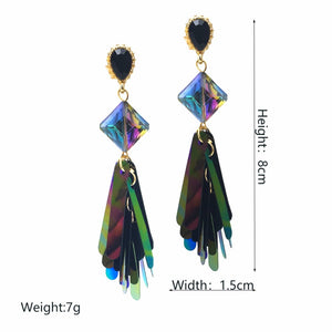 Kali Dangle Earrings - NaturaleeChicBoutique