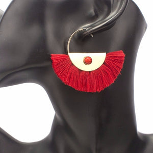 Zhane Tassel Earrings