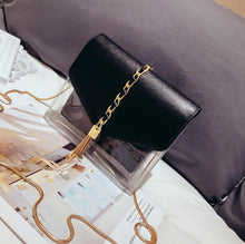 Jelly Welly Gold Chain Transparent Bag