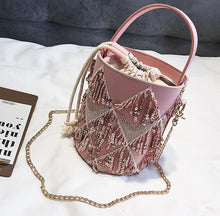 Sequin Bucket Handbag - NaturaleeChicBoutique
