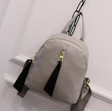 Kayla Tassel Backpack - NaturaleeChicBoutique