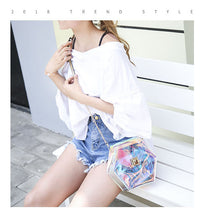 Iridescent Transparent Jelly PVC Bag