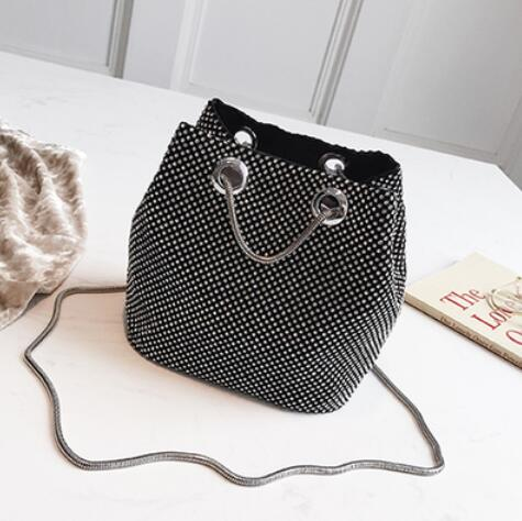 Diamond Drawstring Bag - NaturaleeChicBoutique