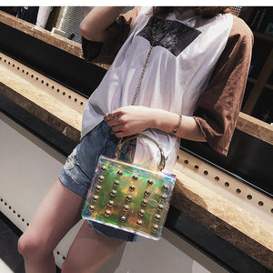 Bolt Lightening Transparent PVC Bag