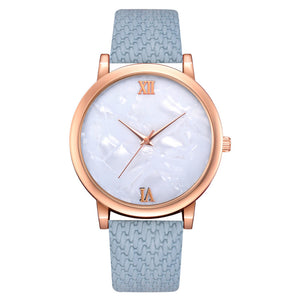 Golden Gate Quartz Leather Watch - NaturaleeChicBoutique