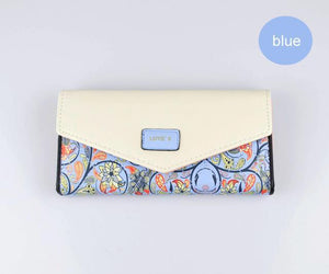 Designer Luxury Long Wallet - 5 Styles